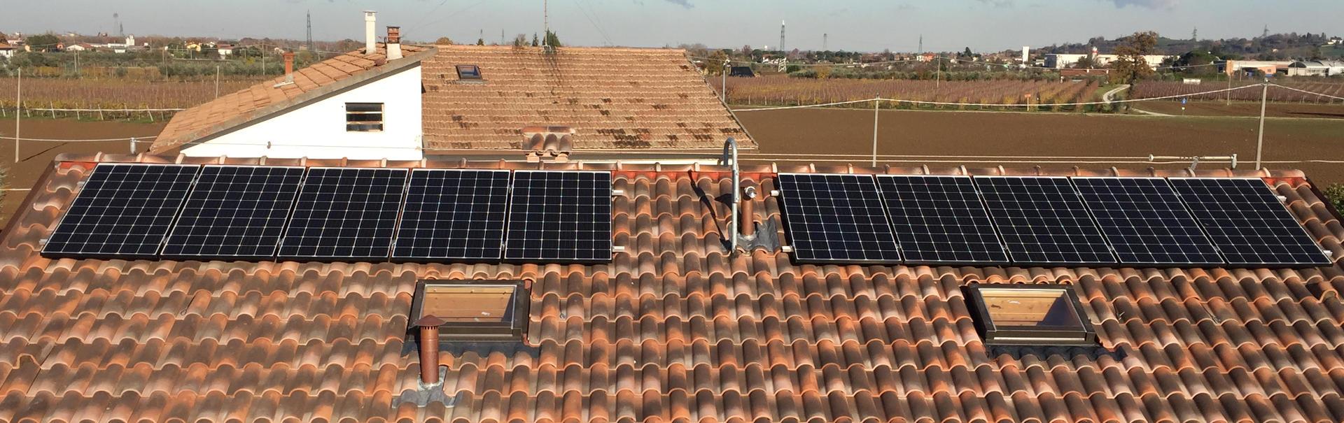 Impianto fotovoltaico per abitazione privata Rimini, Cesena, Ravenna